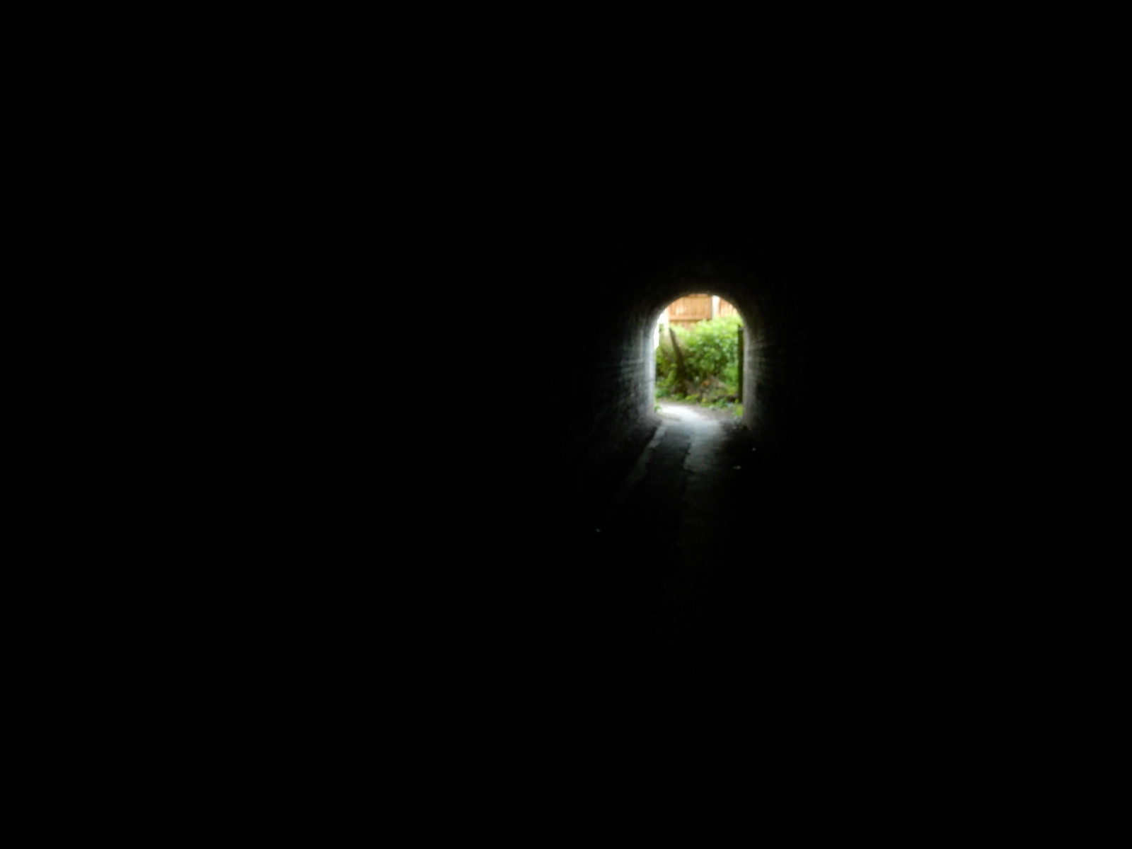 Light at the end of the tunnel Still a long way off :( Tunnel approaching Baldock. Baldock Circular
