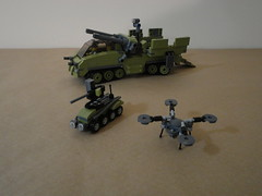 Havoc and both unmanned systems