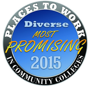 Sat, 01/17/2015 - 12:19 - The Promising Places to Work in Community Colleges logo