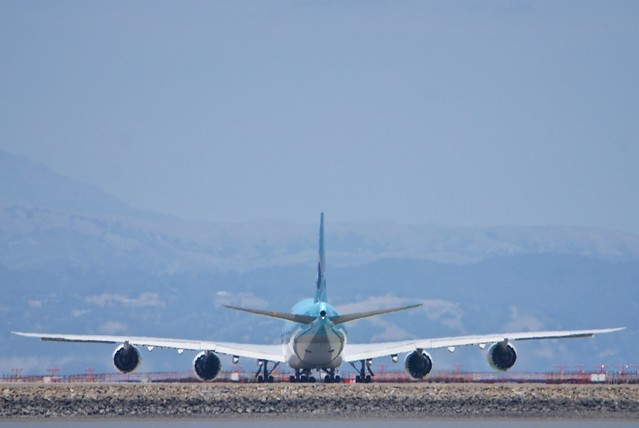 Korean Air Lines Boeing 747-800, HL7630, stretched jumbo jet DSC_0747