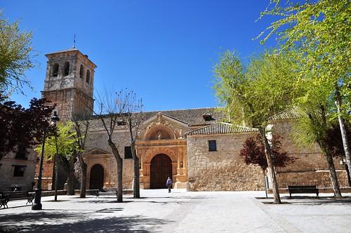 Corral de Almaguer (Toledo). Iglesia de Nuestra Señora de la Asunción