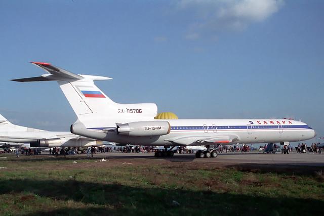 RA-85786 Tupolev TU-154M Samara