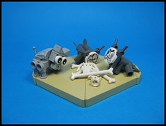 GRRRAWAY! Our bones!