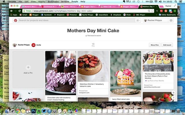 Pinterest Secret Boards for Recipe Development