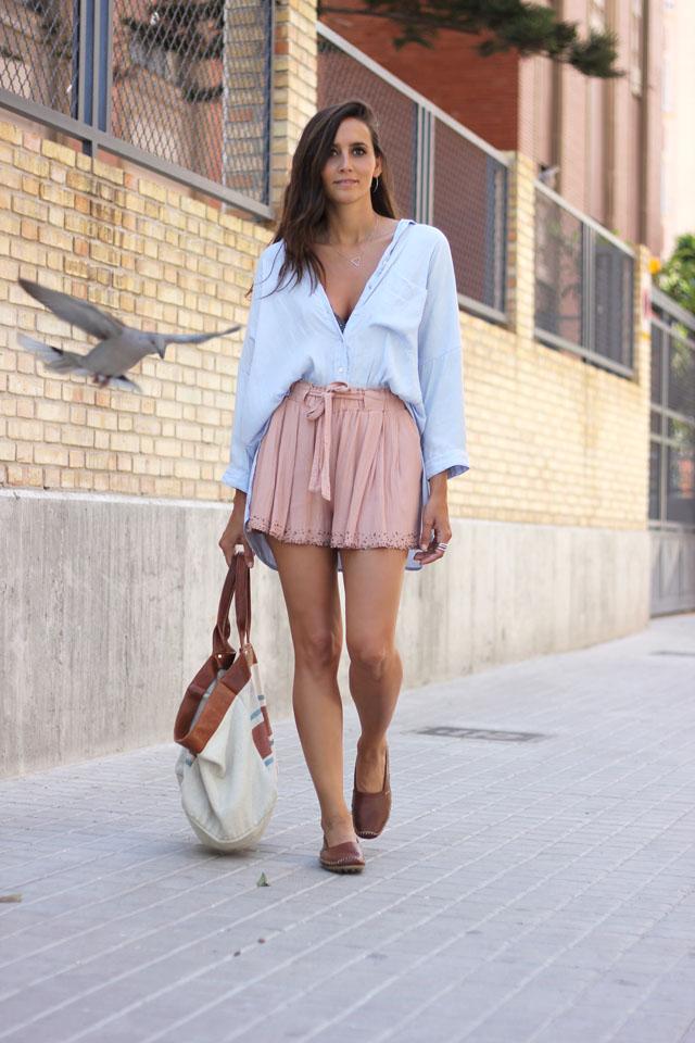 bleu blouse coohuco 5