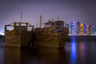 Dhows in Doha