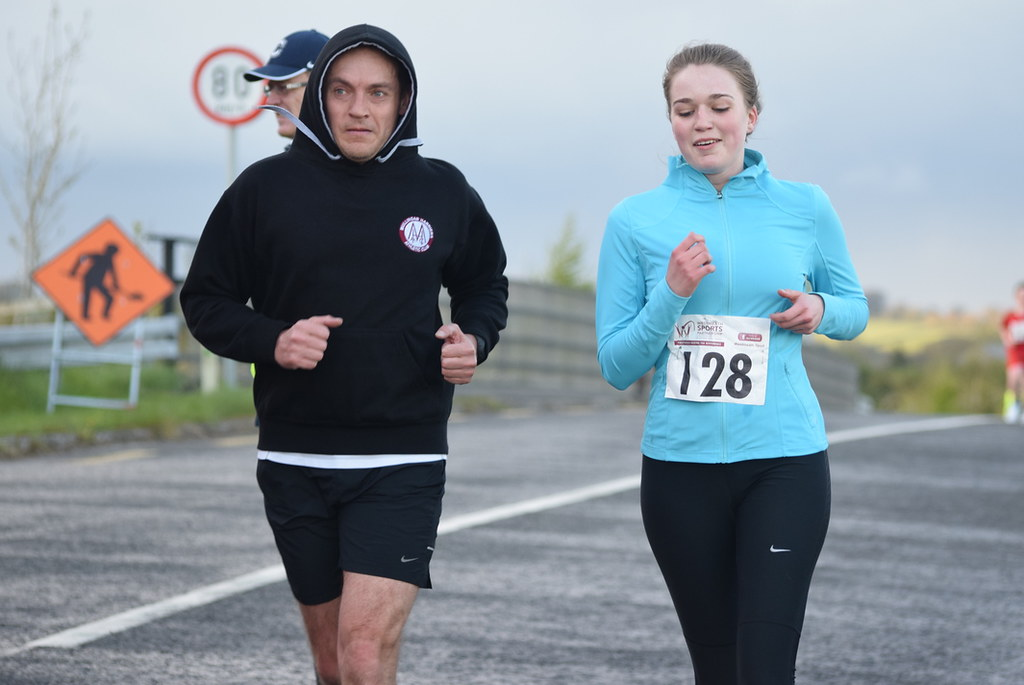 FINISH: Coralstown National School 5KM 2015