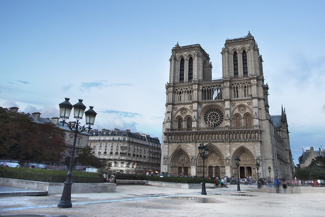 Afternoon at Notre Dame