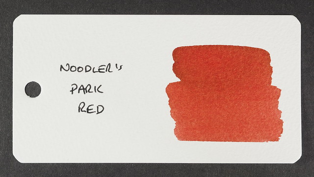 Noodler's Park Red - Word Card