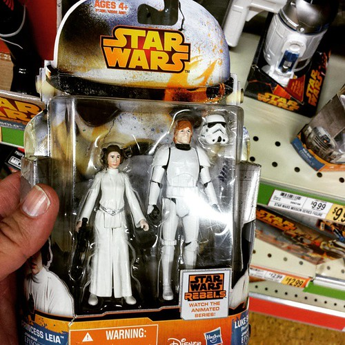 "If Luke is ""a little short for a stormtrooper"", is Leia REALLY short or are stormtroopers 7'2""? #starwars"