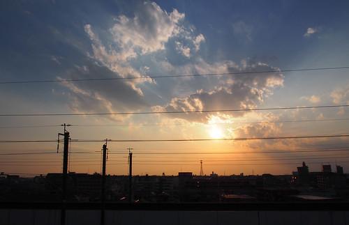 sky night 日本 sunsetsunrise 埼玉県 さいたま市