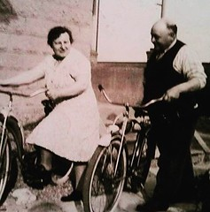 Meet Great Grandma Armida  & Grandpa Armondo Paci.  My Grandma Paci came to the United States from Italy in 1907 at the age of 12. She lived to be 100, But I never met my Grandpa Paci.   Some interesting stories about them:  Grandma Paci came to this coun