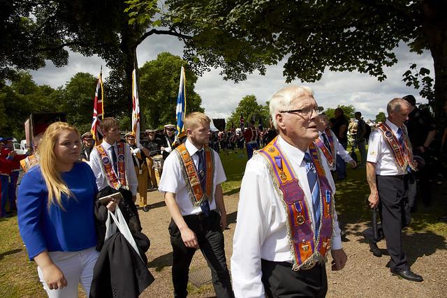 Paisley Ferguslie Gardens Flute Bands Parade (180)