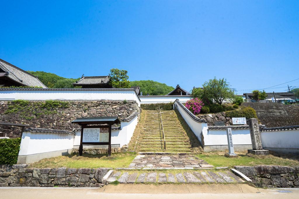 頼久寺入口1