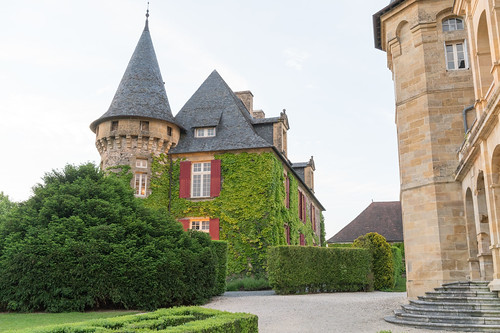 The Old Castle at Domaine d'Essendéras