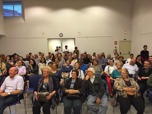 Presentació llibre Revoltats Sublevados a Sant Vicenç dels Horts amb Oriol Junqueras, Justo Molinero i Saül Gordillo 04-05-15