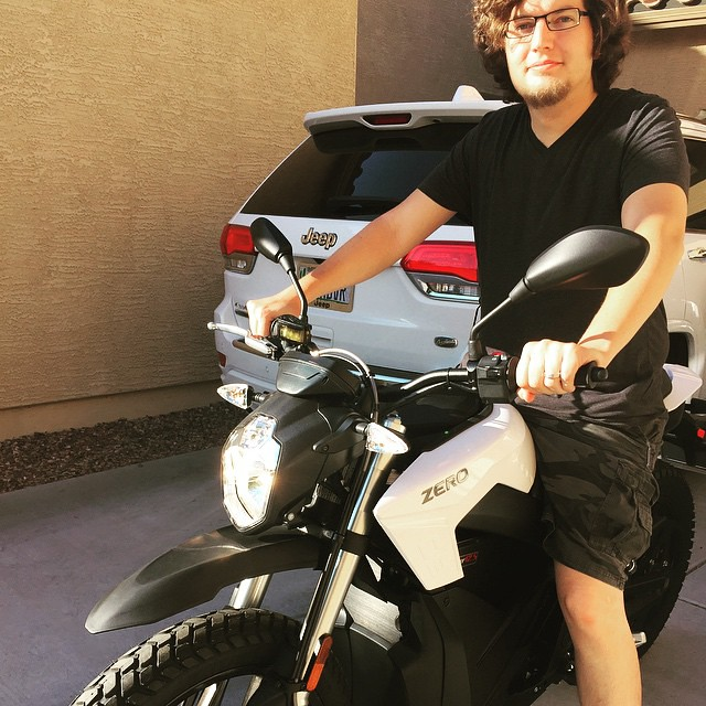 All American, all electric motorcycle! by bartlewife