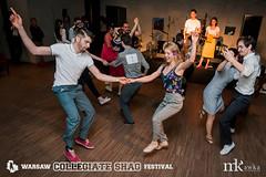 Warsaw Collegiate Shag Festival - piątkowe warsztaty i impreza w Skwerze