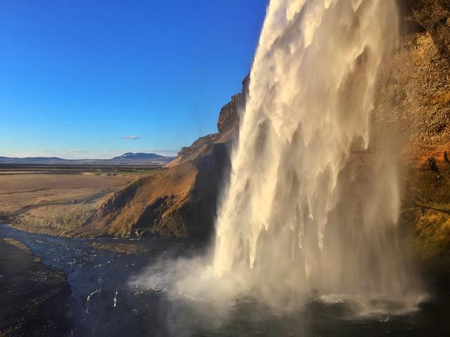 Cascada Seljalandsfoss (Islandia)