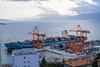 Guiness ship at Rijeka port