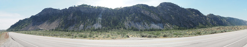 Toward Tonasket: It was pretty arid around there.
