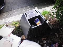 Sonne im Müll