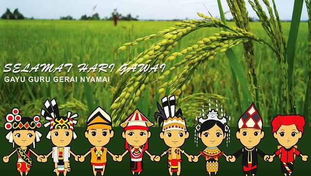Selamat Hari Gawai