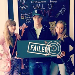 Spent a great 24 hours with these two in #Yeg last week & this was the only picture we took. - #breakout #escaperoom #family #brother #edmonton #fail