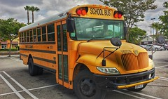 School Bus, Los Angeles, California