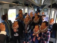 23 abril. Tren de Cervantes 2016.
