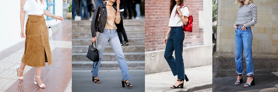 how-to-wear-block-heels-outfit-ideas