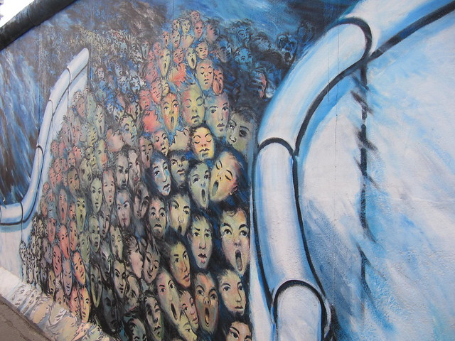 East side gallery - The Berlin Wall, three sights you can't miss