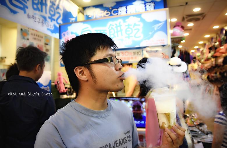 逢甲夜市美食小吃冰飲料韓國白雲餅乾17