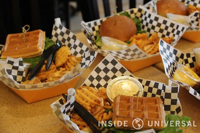 Springfield Food Report at Universal Studios Hollywood