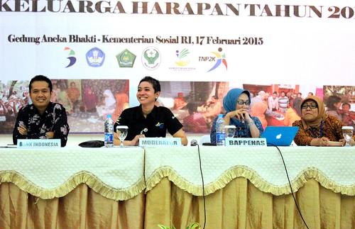 Diskusi Panel Rakornas PKH Tahun 2015
