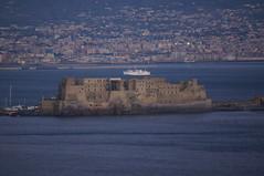 castel dellovo visto dalla terrazza di san Antonio