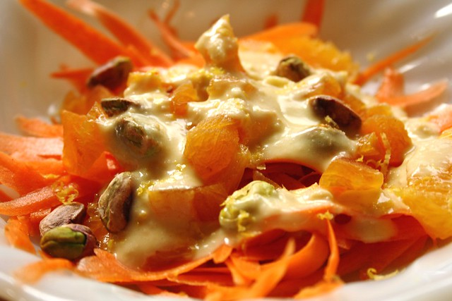 Carrot, Orange, Dried Apricots & Pistachios Plus Salad Love Review