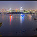 Tokyo Bay Night Panorama by Mikedie1
