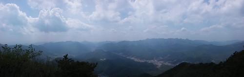 속리산 전경 | 시루봉-청화산 산행