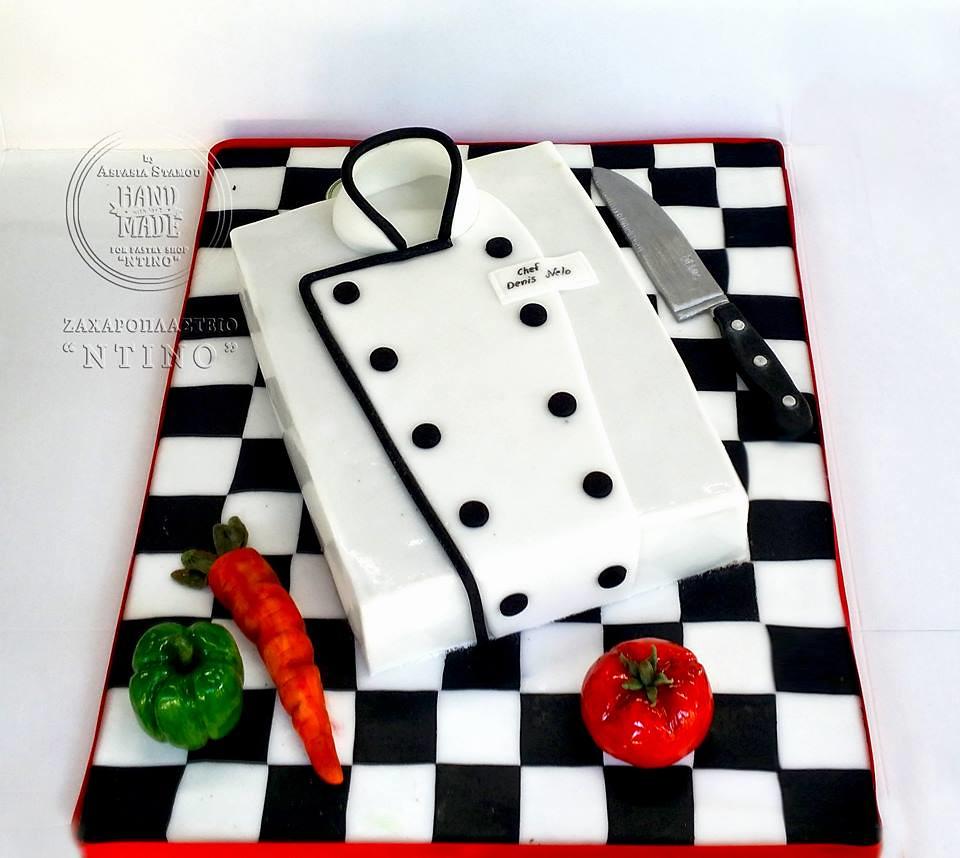 Chef Cake by Aspasia Stamou