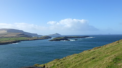The Cliffs of Kerry , Puffin Island and Skellig Rocks.
