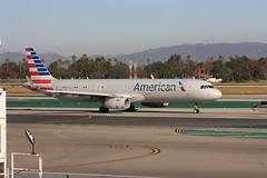 American Airlines Airbus A321-231 N107NN LAX