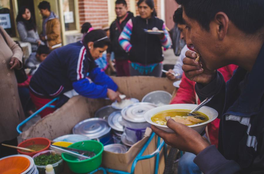 jedzenie w Boliwii