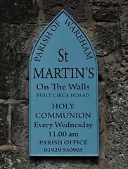 St Martins Wareham
