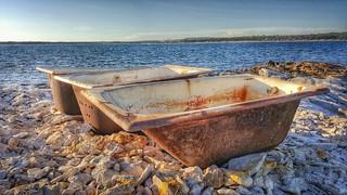 Image of Bijela plaža. threeofakind flickrfriday summer sea rusty bathtub three weirdplace unexpected beach island