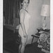 Small photo of Polaroid of a woman in a full body girdle