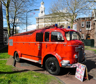 Brandweer Assen Commer R541 Watertender
