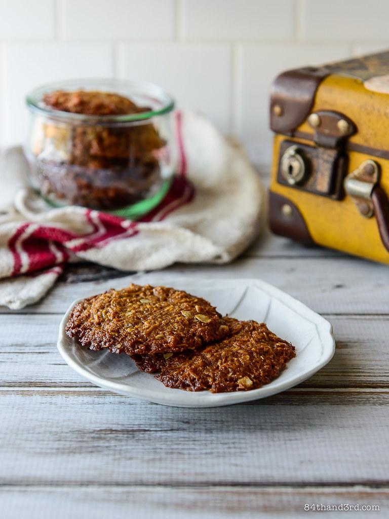 Vegan Spelt Anzac Biscuits