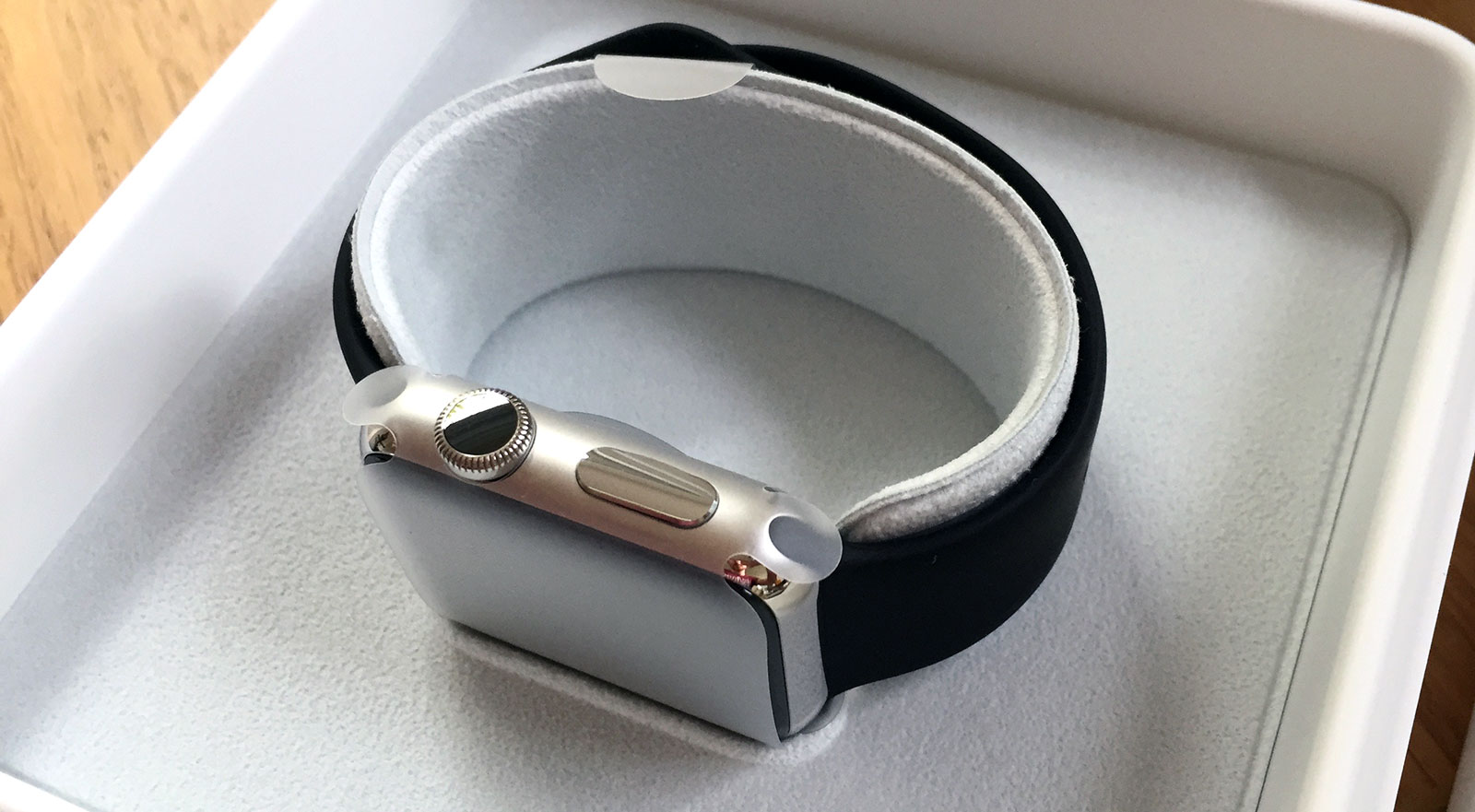 Apple Watch in box
