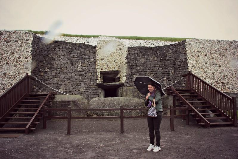 Rain at Newgrange, Brú na Bóinne